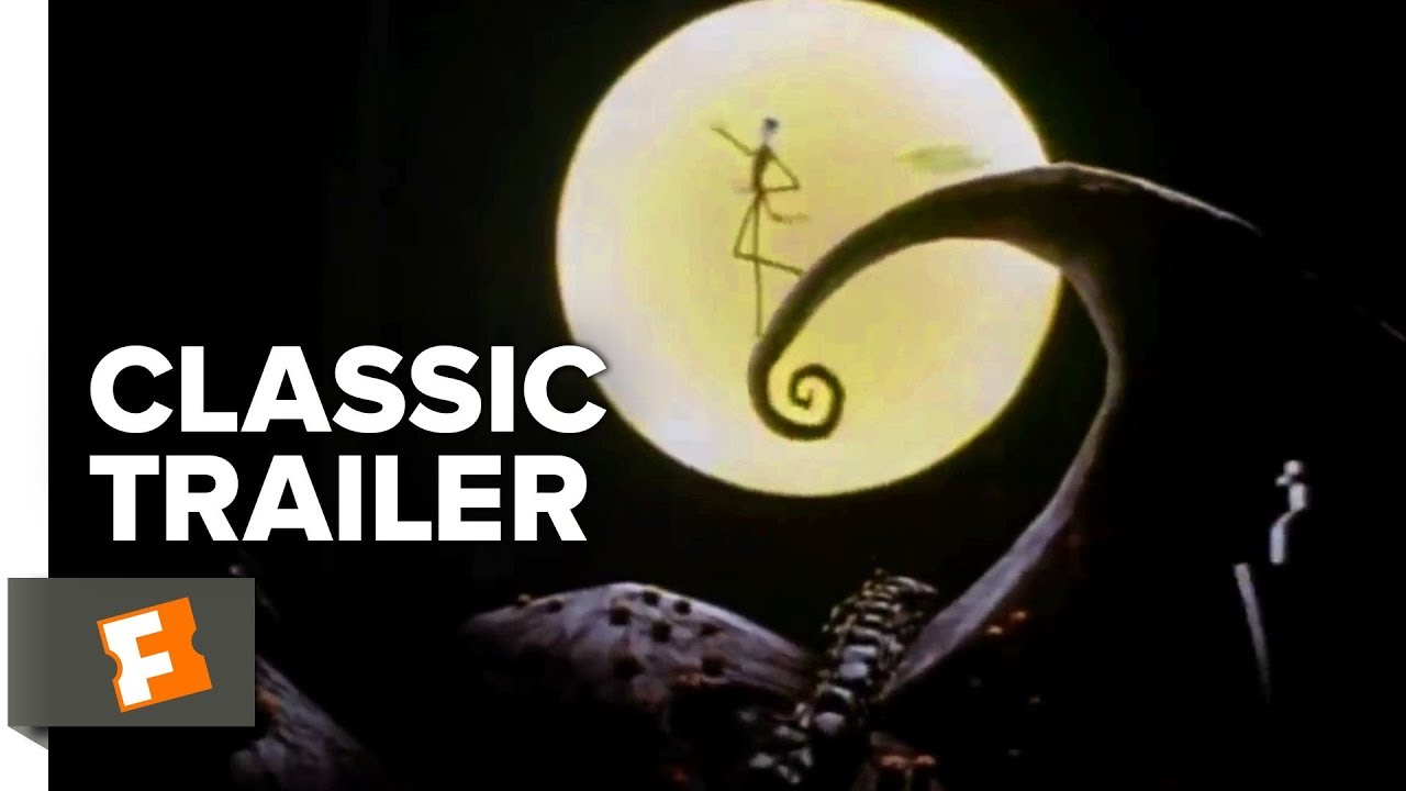 the nightmare before christmas 1993 official trailer 1 animated movie youtube - 12 Dates Of Christmas Trailer
