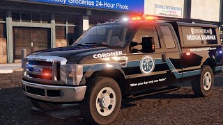 How to Install Ford F350 Coroner Vehicle - GTA 5 LSPDFR Police Mod