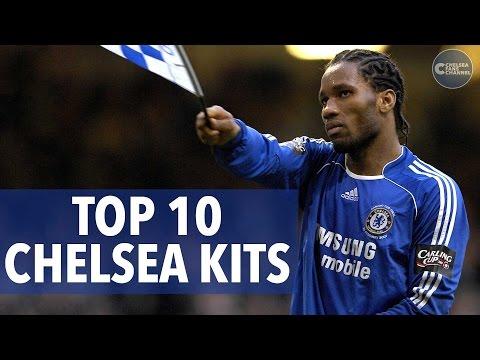 Top 10 Chelsea Kits