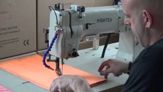 Extra heavy duty webbing slings sewing machine