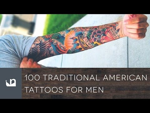 100 Traditional American Tattoos For Men
