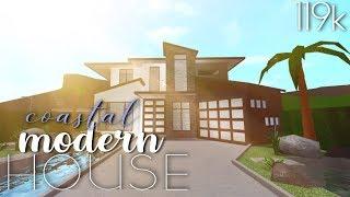 Roblox | Bloxburg: casa moderna costeira 119k