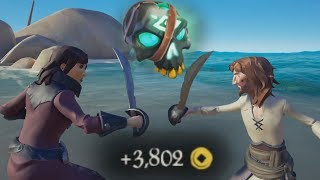 Sea of Thieves - The Greatest Skull Standoff in History!