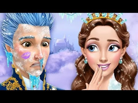 Fun Baby Care Kids Games - Learn Colors Makeover Bath Time Ice Princess Gloria Ice Salon Gameplay
