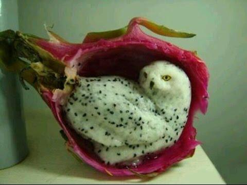 фото фигурок животных из фруктов