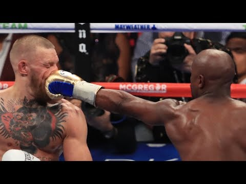 Floyd Mayweather Knocks The SH** Out Of Conor McGregor!
