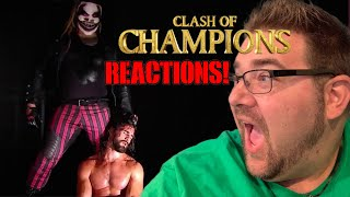 WWE CLASH of CHAMPIONS 2019 PPV REACTIONS RESULTS and REVIEW!
