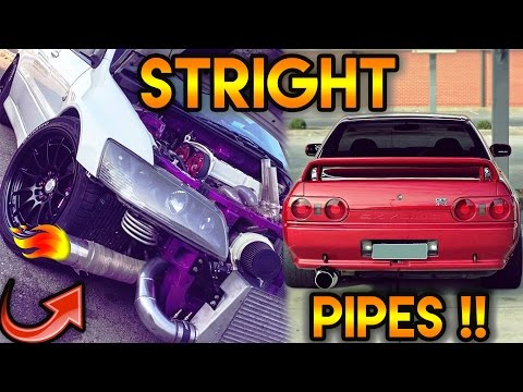 7 Cars That Sound AMAZING With STRAIGHT PIPES #ep2 !(Skyline,Evo,350z,rx7,neon srt 4,volvo s60)