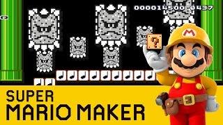 Super Mario Maker - Thwomp Romp