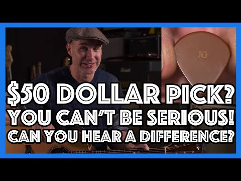 a-$50-guitar-pick?-can-you-hear-the-difference?-guitar-lesson-tutorial-gear-review-blue-chip