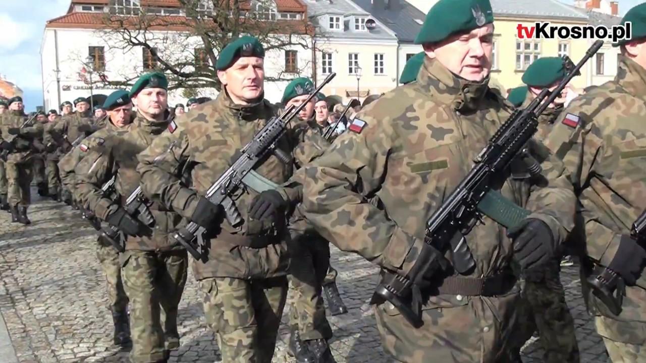 Kolejnych 380 żołnierzy OT złożyło przysięgę na krośnieńskim Rynku!