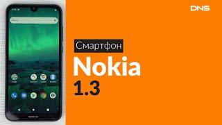 Распаковка смартфона Nokia 1.3 / Unboxing Nokia 1.3