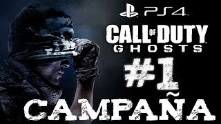 CALL OF DUTY GHOSTS - Español - Campaña Capitulo #1 - PS4 - Gameplay -1080p - HD