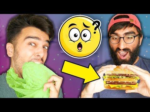 Wait... McDonalds is VEGAN?! Meat Lover ONLY EATS VEGAN for 24 HOURS! (Food Challenge)