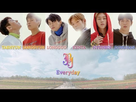 [日本語字幕]JBJ(제이비제이) - Everyday (매일)