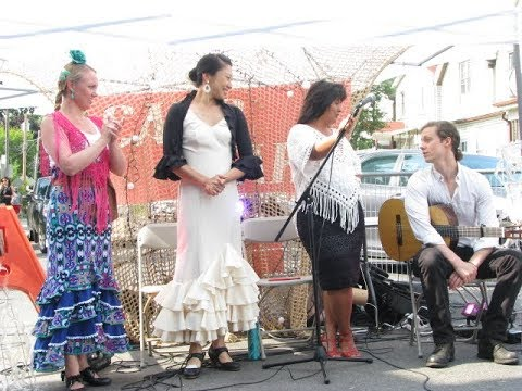 Flamenco at BIG on Bloor Festival in Toronto
