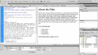 Creating And Links To .CSS Files Via Dreamweaver Tutorial