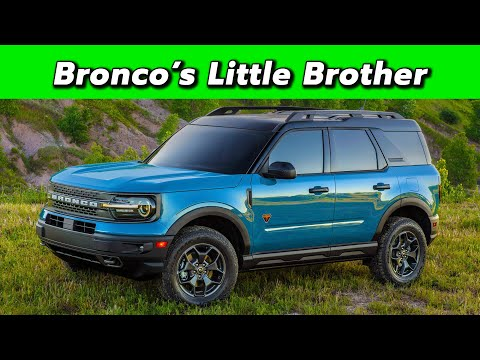 The Baby Bronco Is Here 2021 Ford Bronco Sport First Look Youtube