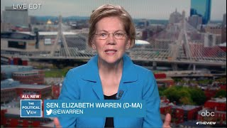 Gambar cover Elizabeth Warren Discusses Emergency Stimulus Plan and Trump's Response to Coronavirus | The View