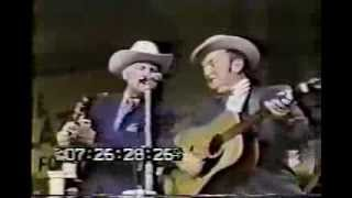 Lester Flatt and Bill Monroe at the Grand Ole Opry - Will You Be Loving Another Man