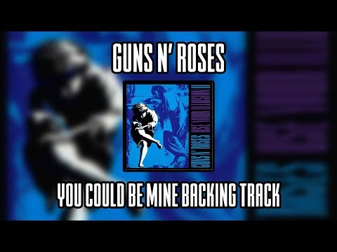 Guns N' Roses You Could Be Mine Backing Track (Lead Guitar)