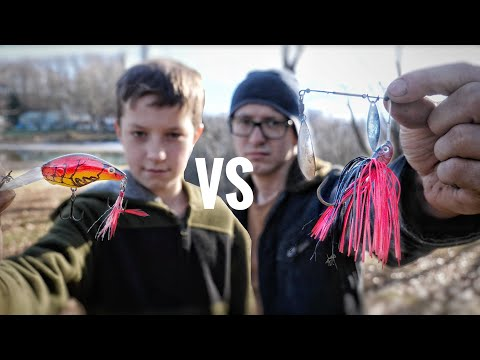 Who Can Find The Best Fishing Lures?/ Lure Hunting Competition