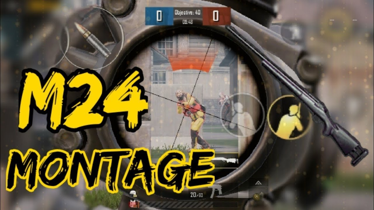 #gaming #trending #new #gameplay  M24 Shots | Montage | PUBGMOBILE | Blood Thirsty.