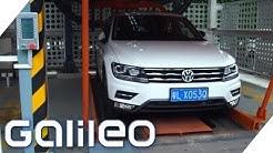Ein Auto auf Knopfdruck: Chinas Auto-Automat | Galileo | ProSieben