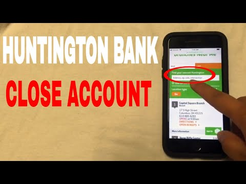 ✅  4 Ways To Close Huntington Bank Account 🔴