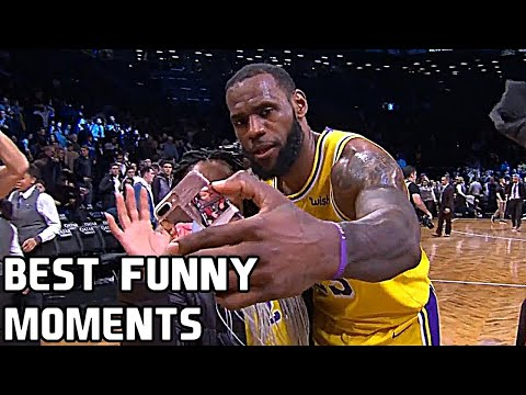 LeBron James Best Funny Moments & Bloopers of All Time!