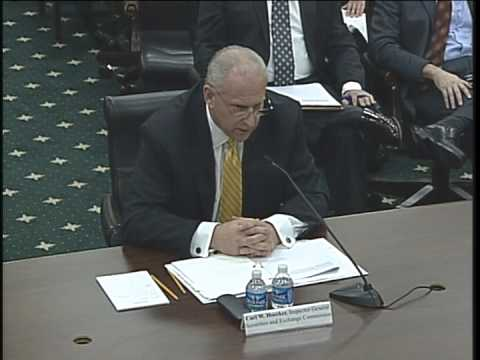 Hearing: Securities and Exchange Commission Oversight (EventID=100408)