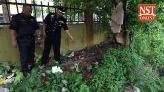 Smoke bombs discovered near Air Panas flats, police still investigating