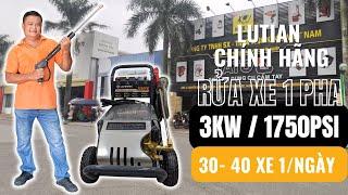 Chia sẻ  Kinh Nghiệm Sử Dụng Máy rửa Xe  3KW/220V HOTLINE: 0983.230.230