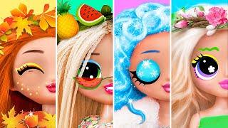 Four Seasons LOL Surprise / 12 Doll DIYs
