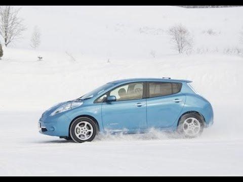 Эксплуатация Nissan Leaf в  минус 25 C (ze0 & Aze0)