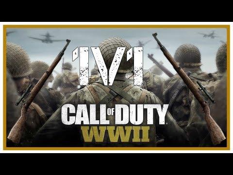 first call of duty world war 2 1v1 baytowncowboy85