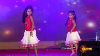 akshara and angelina dance perfomance