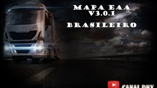 Como instalar mapa EAA no Euro truck simulator 2 v1.22 - tutorial