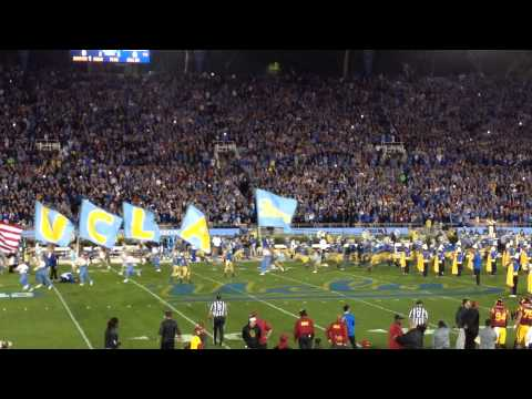 UCLA Bruins TUNNEL ENTRY vs. USC Football 2015