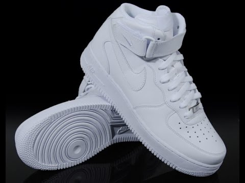 Nike air force 1 white unboxing YouTube