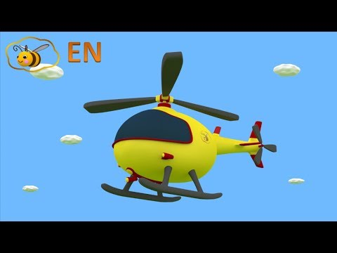 Helicopter For Kids Video. Toy Helicopter From Surprise Egg. Cartoon For Children