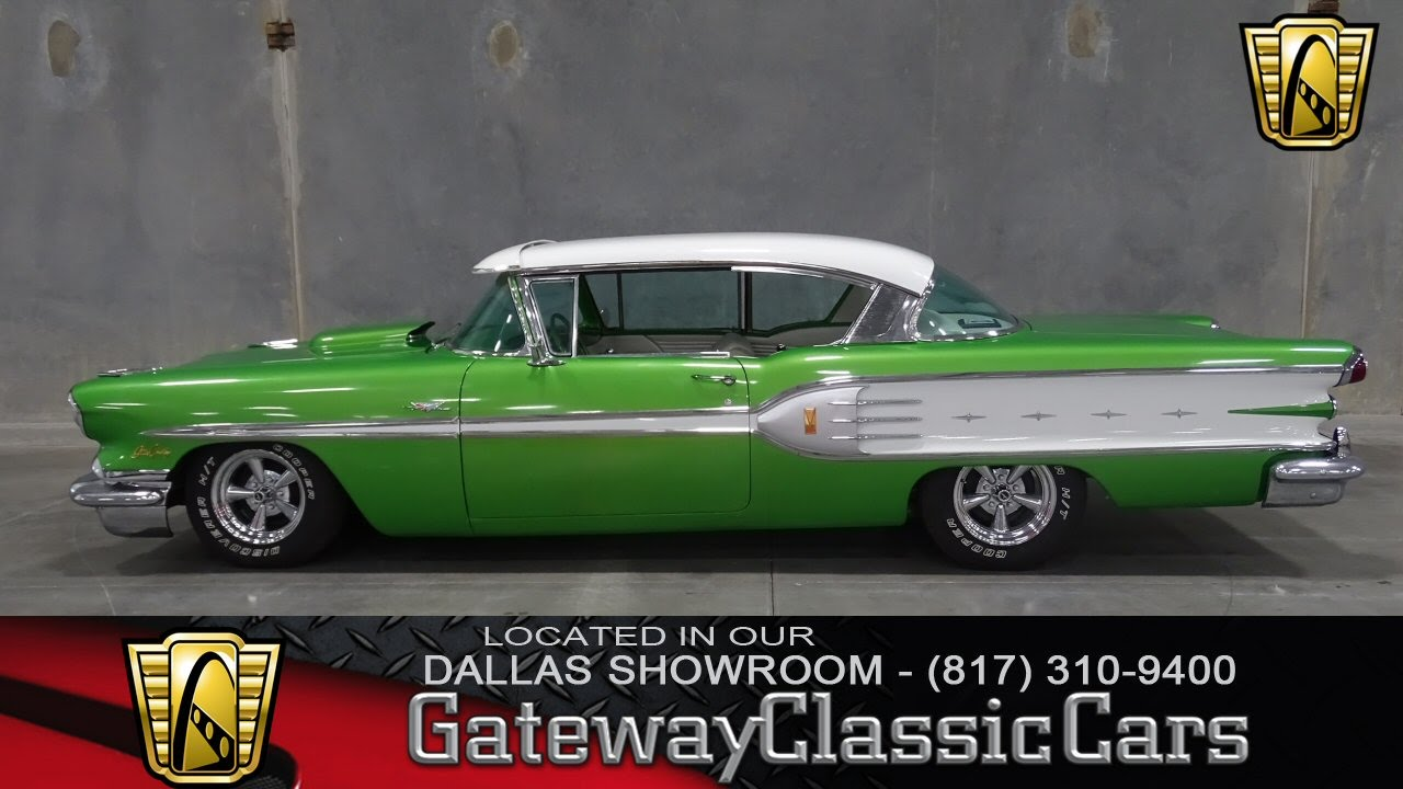 1958 Pontiac Star Chief Stock #154 Gateway Classic Cars of Dallas ...
