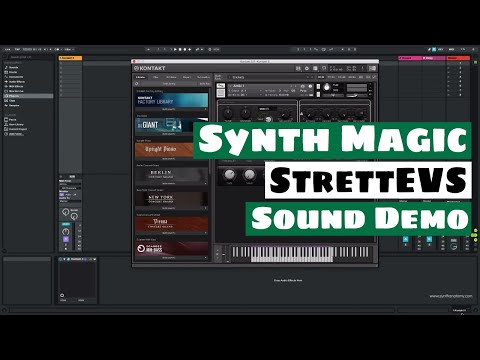 Synth Magic StrettEVS - Free Boards of Canada Sounds for K5 & SFZ