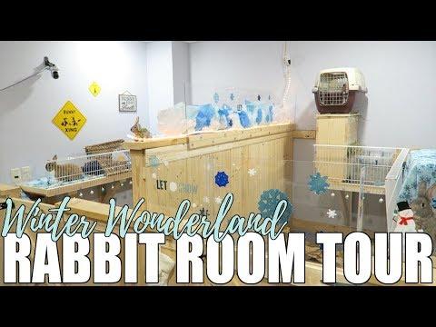 Winter Wonderland Rabbit Room Tour