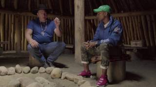 Repeat youtube video In Conversation with Jasper Youngbear and Pharrell Williams