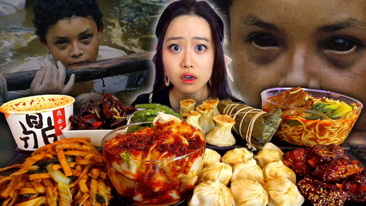 The Dark Story Behind TikTok's Viral Picture - What Happened To Omayra? Spicy Din Tai Fung Mukbang