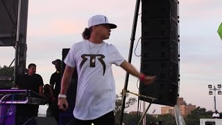 Red Rat Diss Mr. Vegas Live On Stage (Roy Wilkins Park, New York] (Sept 2015)