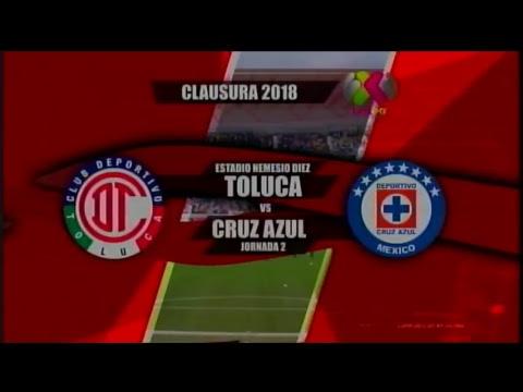 Liga MX Femenil  J2 - Toluca VS Cruz Azul