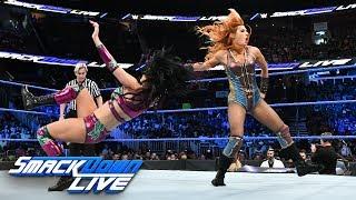 Charlotte Flair & Becky Lynch vs. The IIconics: SmackDown LIVE, Aug. 7. 2018