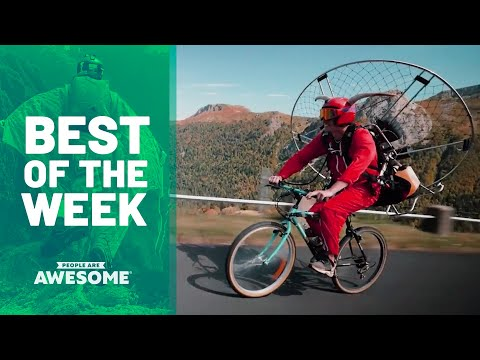 Hand-Built Motor Bikes, Ski Ramps, Contortion & More | Best of the Week